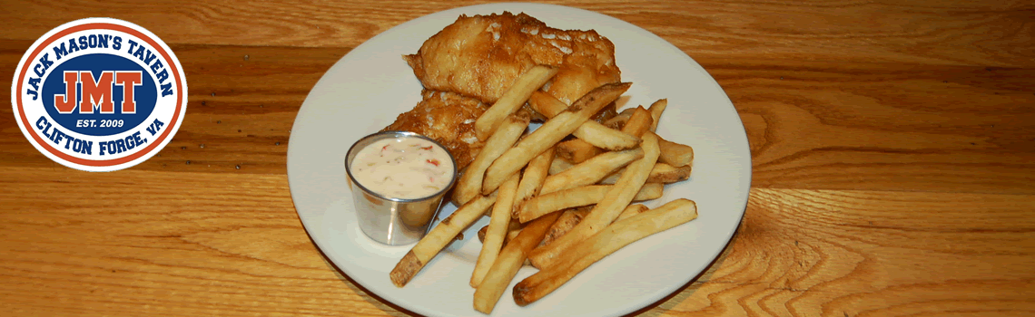 Jack Masons Tavern - Clifton Forge VA - fish n chips